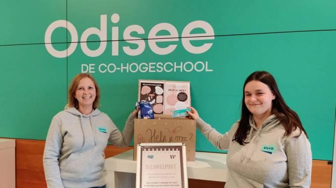 """Hogeschool Odisee start met inzameling menstruatieproducten: """"Kwetsbare studenten ondersteunen"""""""