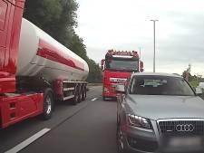 """Un dangereux cas de rage au volant sur la E40 près de Bruxelles: """"Il va provoquer des accidents"""""""