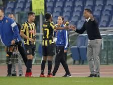 Serero en Matavz op de bank bij Vitesse