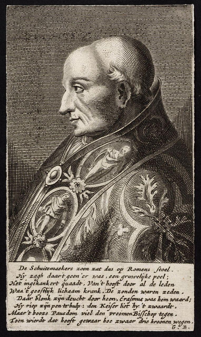 Kardinaal Adrianus van Utrecht, later paus Adrianus VI Beeld rv