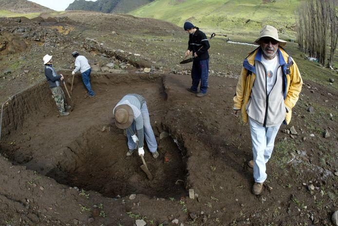 De schat zou begraven liggen op een diepte van 14 meter.