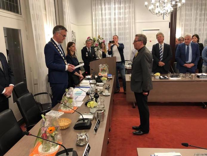 Mei 2018: Jan de Laat treedt namens PrO aan als wethouder van Oisterwijk.