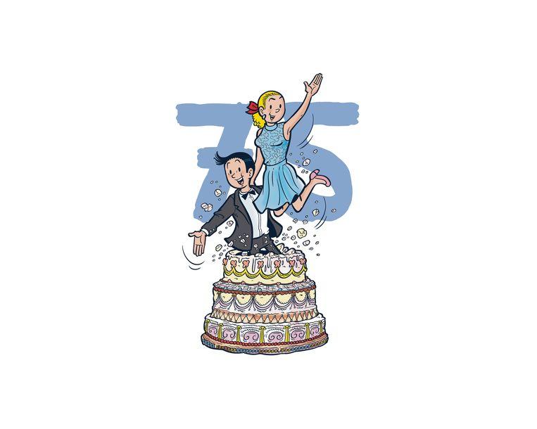 Suske & Wiske worden 75 jaar. Beeld RV