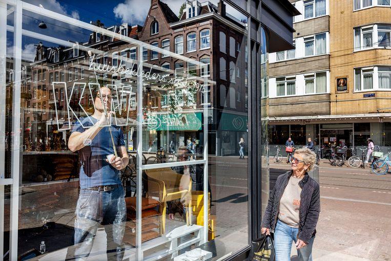 De nieuwe 'stads-Kwantum' in de Ferdinand Bolstraat. Beeld Jean-Pierre Jans