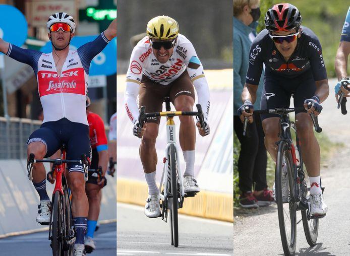 Milaan-Sanremo-winnaar Jasper Stuyven, olympisch kampioen Greg Van Avermaet en voormalig Giro-winnaar Richard Carapaz tekenen allemaal present in Leuven.