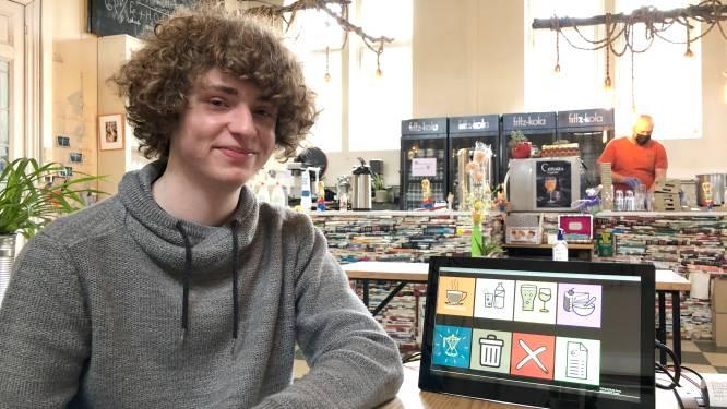 """Robbe (17) ontwikkelt vernuftig kassasysteem: """"In het zesde leerjaar leerde ik al algoritmes schrijven"""""""