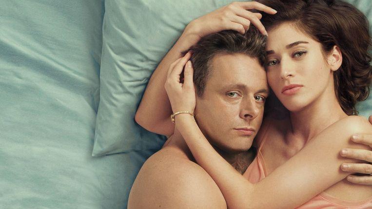 Michael Sheen (William Masters) en Lizzy Caplan (Virginia Johnson) Beeld jp