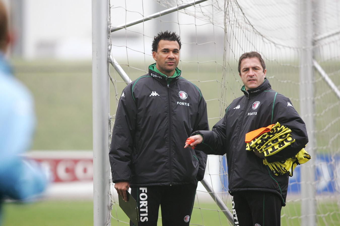 Zeljko Petrovic werkte bij Feyenoord als assistent van Ruud Gullit.