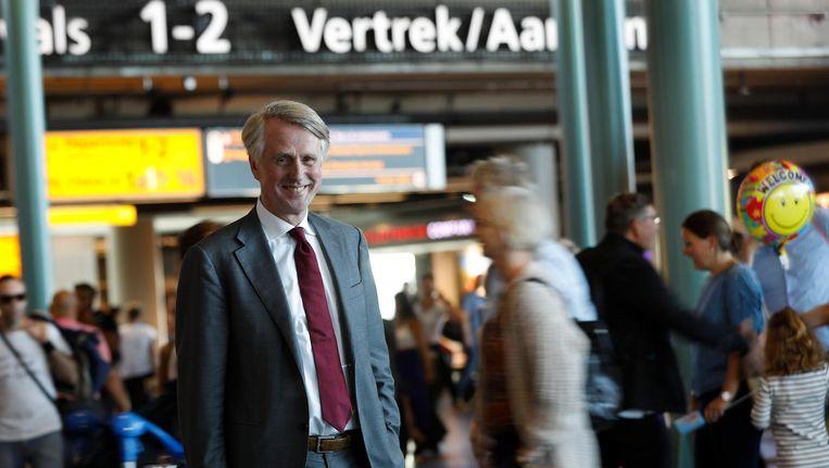 Topman Dick Benschop van Schiphol Group Beeld anp