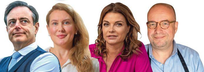 Burgemeester Bart De Wever, columniste Nadine Van Der Linden, seksuologe Goedele Liekens en radiopresentator Sven Ornelis hebben nog geregeld angstdromen over strenge proffen en dikke buizen.