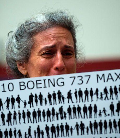Boeing staat nabestaanden met 100 miljoen dollar bij na 737 MAX-rampen