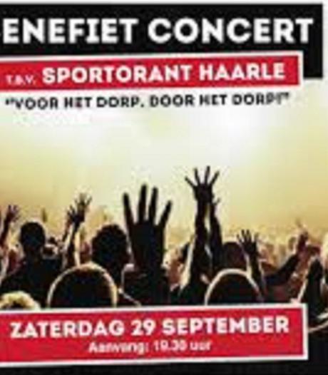 Benefietconcert voor opknappen van Sportorant in Haarle