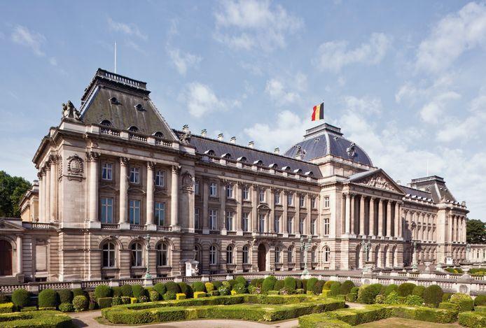 Buitenzicht Koninklijk Paleis Brussel