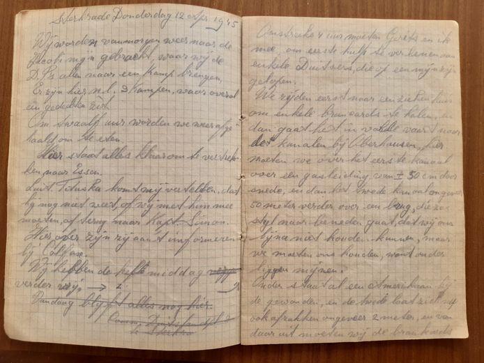 Dagboek Anton Nouwen.