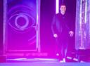 Nick tijdens de finale van 'Big Brother'. Hij werd tweede.