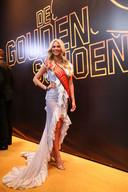 Miss België Celine Van Ouytsel.