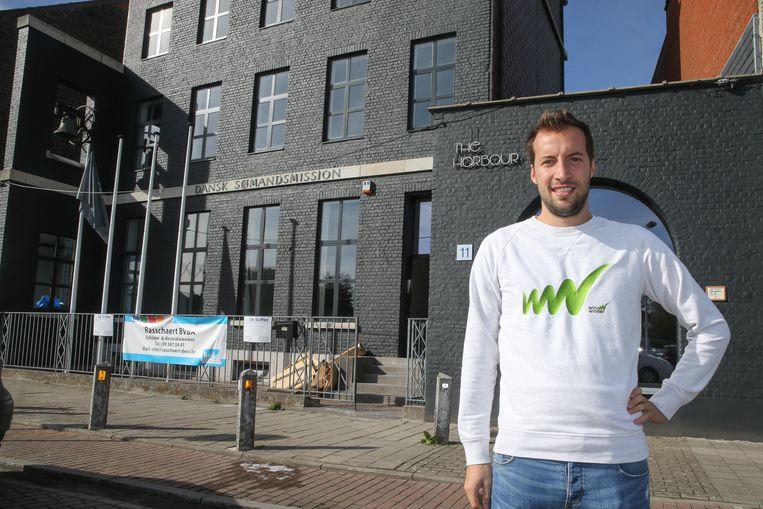 Matthias Broways voor the harbour, nieuw bedrijvencomplex.