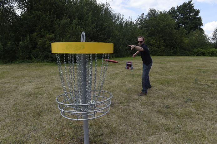 disc- of frisbeegolf