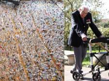 Jarige oorlogsveteraan die miljoenen ophaalde voor de zorg krijgt 125.000 kaartjes