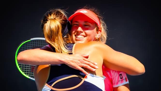 Elise Mertens staat in finale dubbelspel Australian Open