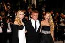 Sean Penn, sa fille Dylan Penn et Katheryn Winnick