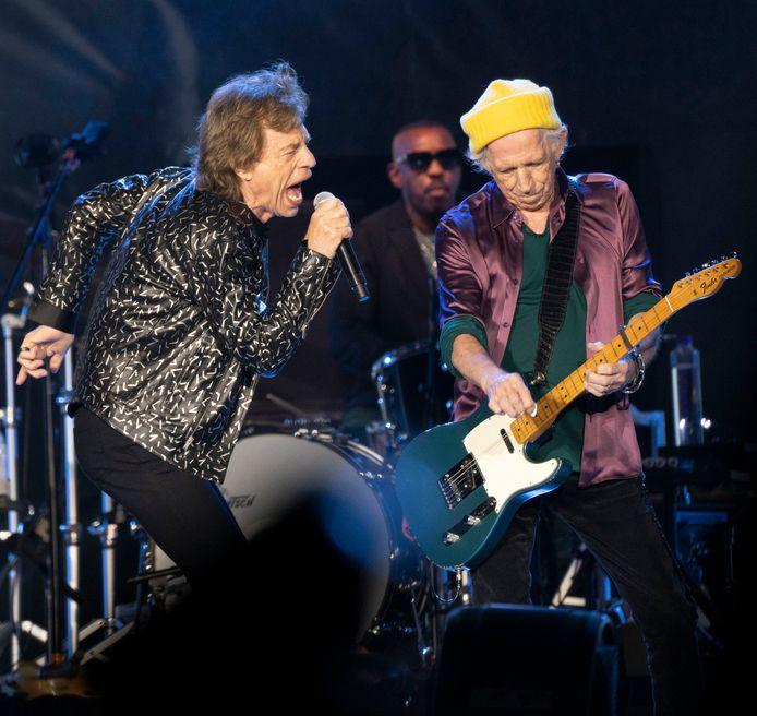 """Les Rolling Stones ont supprimé pour leur tournée américaine leur tube légendaire """"Brown Sugar""""."""