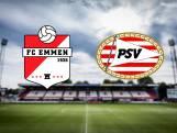 LIVE | PSV opent tweede seizoenshelft in Emmen