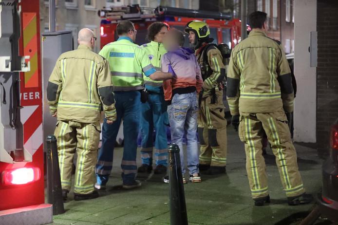 Sommige bewoners kregen extra ondersteuning van ambulancepersoneel
