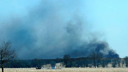 Vijf vermisten na explosie van boortoren in Oklahoma
