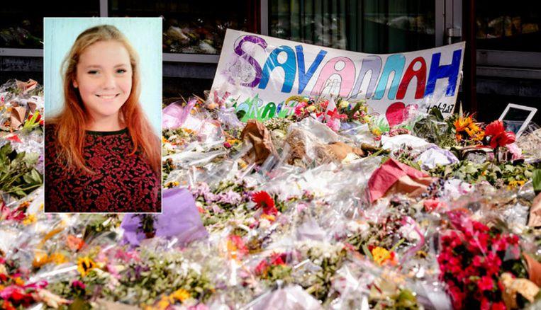 Savannah Dekker (14) werd dood aangetroffen in het water bij het industrieterrein De Kronkels in Bunschoten.