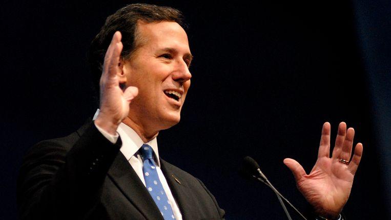 Rick Santorum. Beeld EPA