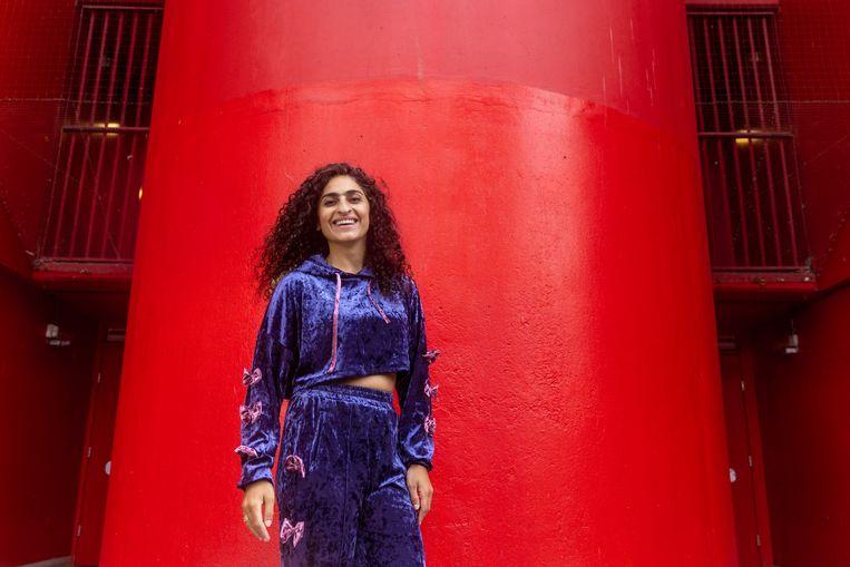 Theatermaker Nastaran Razawi Khorasani. Beeld Ines Vansteenkiste-Muylle