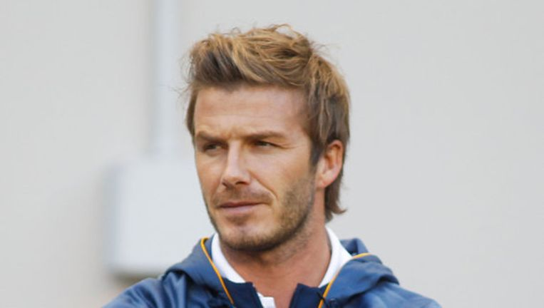 David Beckham. Foto AFP Beeld