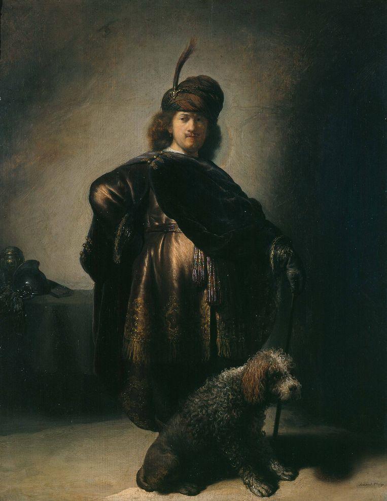 Een zelfportret van Rembrandt in 1631-1632, in Petit Palais, Musée des Beaux-Arts de la Ville in Parijs.  Beeld Getty Images