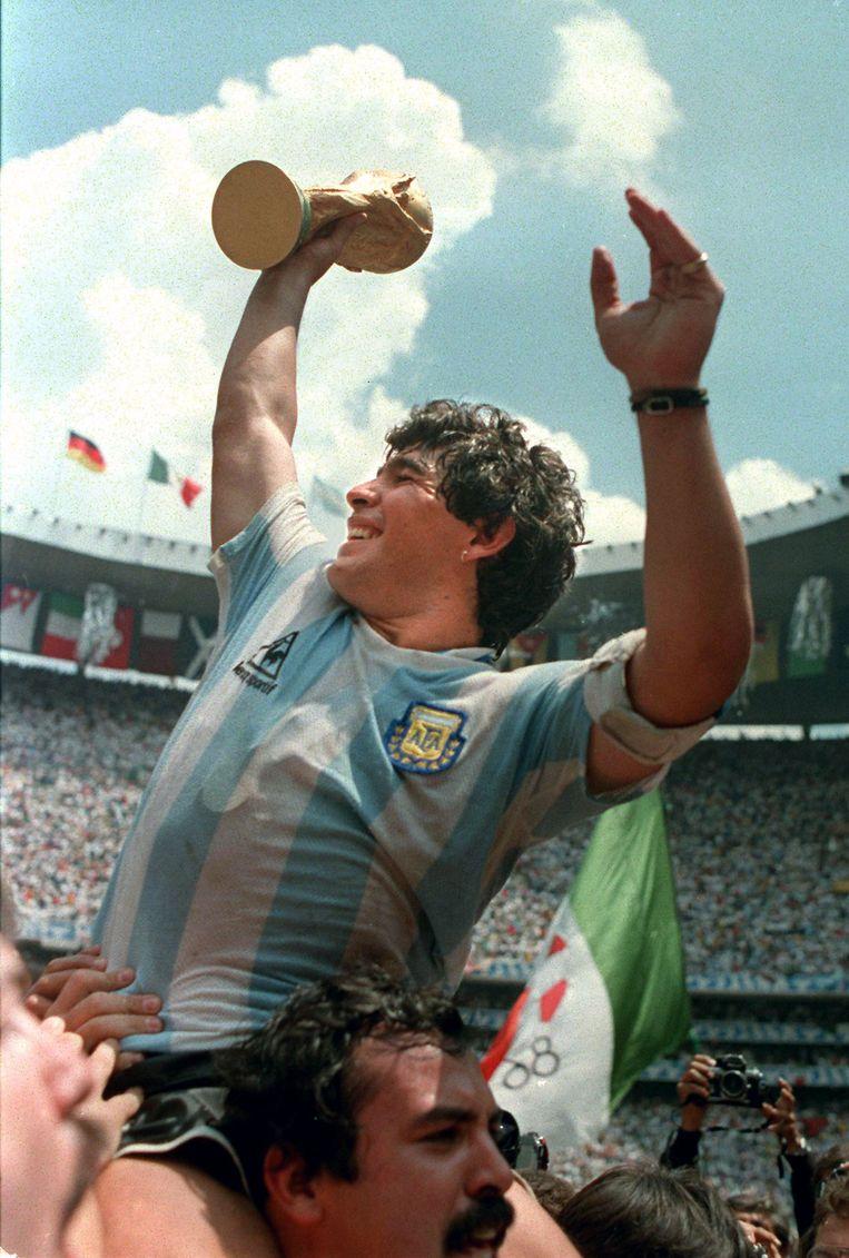 Maradona in 1986 Beeld afp