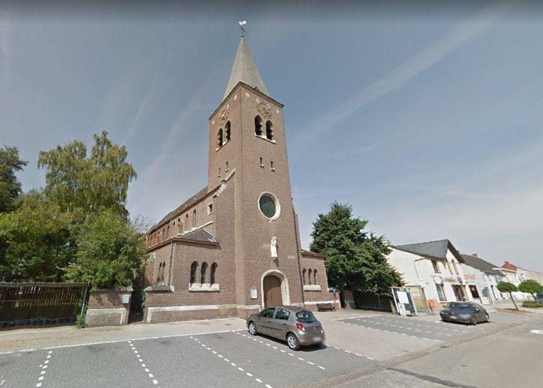 De kerk in Pijpelheide
