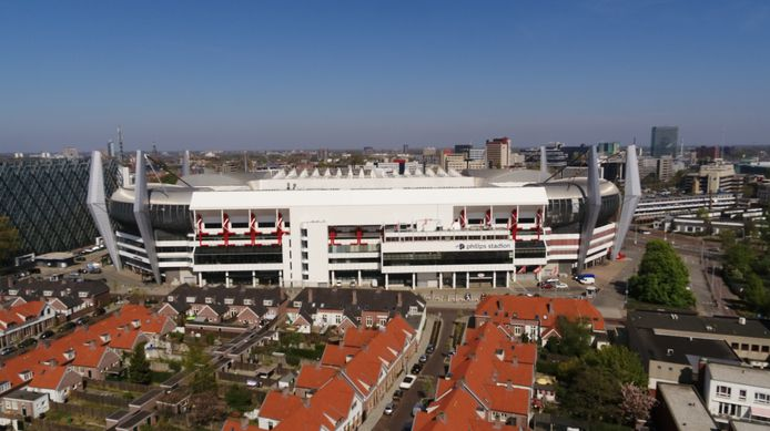 Drone foto: Philips Stadion