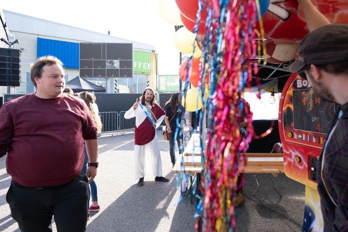 MECHELEN Student Lift Off op het Douaneplein