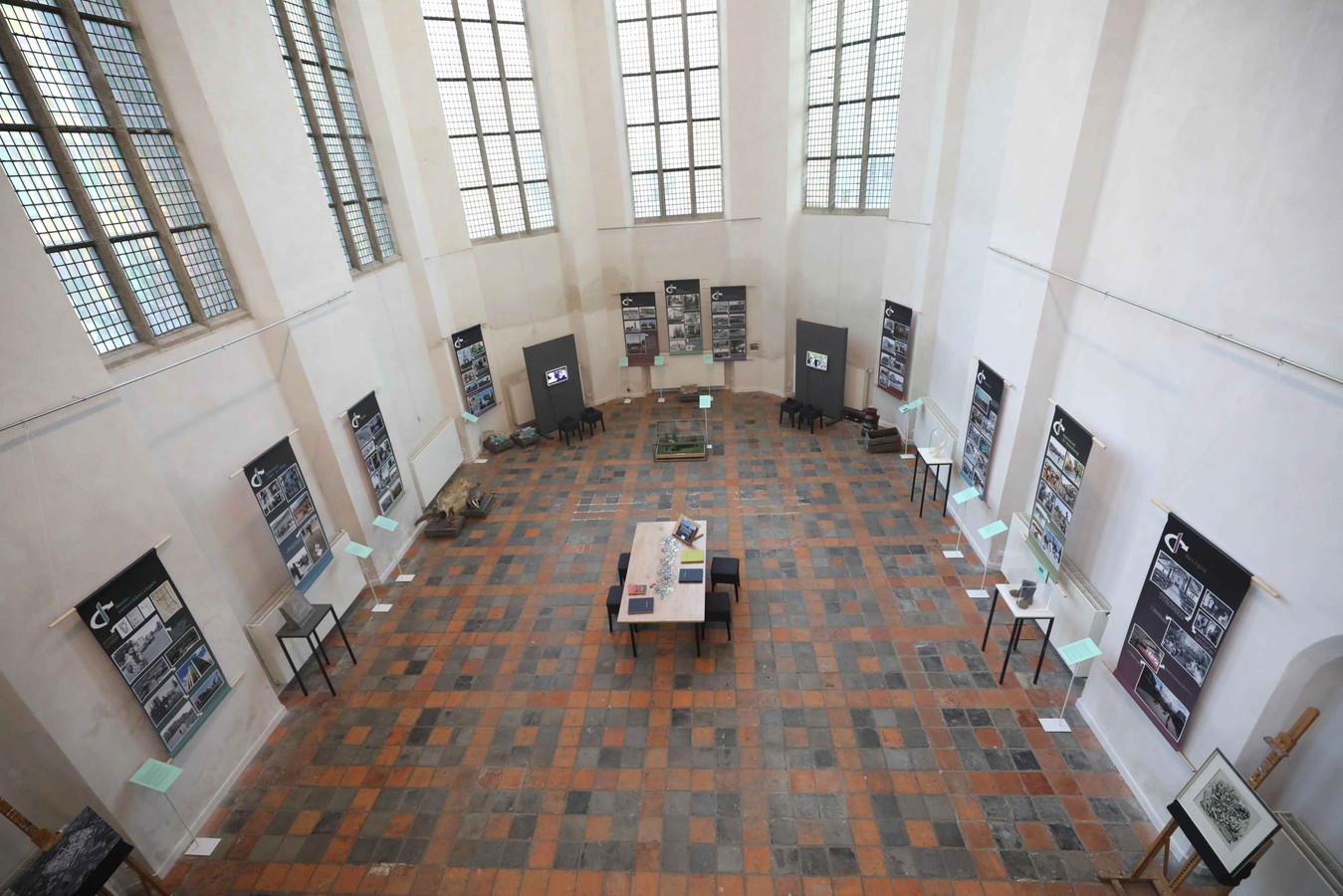 De expositie in Dukenburg.