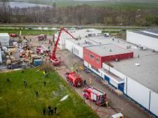 Oorzaak grote brand bij SMG Groep in Hasselt onduidelijk, geen aanwijzingen voor brandstichting