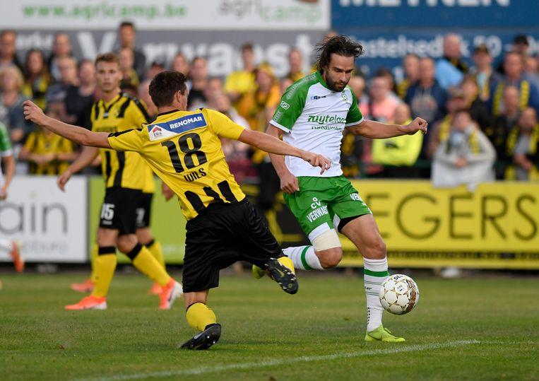 Lierse Kempenzonen en Thomas Wils eerder dit seizoen op Dessel Sport.