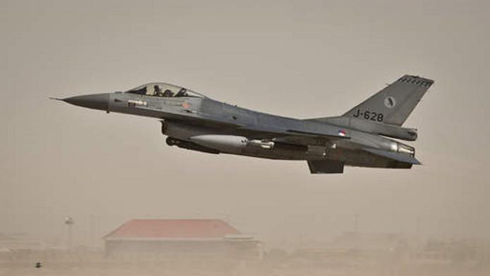 De F-16's hebben het afgelopen half jaar meer dan 350 keer hun wapens ingezet