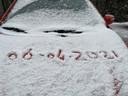 Sneeuwval in Helvoirt.