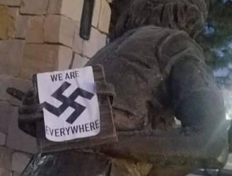 """Hakenkruizen op uniek en kostbaar standbeeld van Anne Frank in VS: """"Dit is een trieste dag"""""""