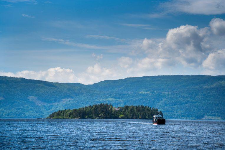 Voor Utøya is nog steeds geen nationaal monument dat herinnert aan de gruwelijkheden van tien jaar geleden. Beeld EPA