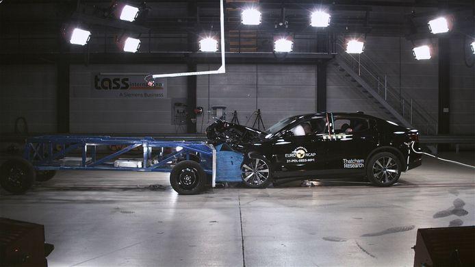 Euro NCAP veiligheidstest.