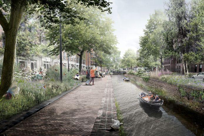 Een toekomstbeeld van de Nieuweweg in Breda.