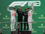 Verstappen tweede achter Bottas, maar voor boze Hamilton