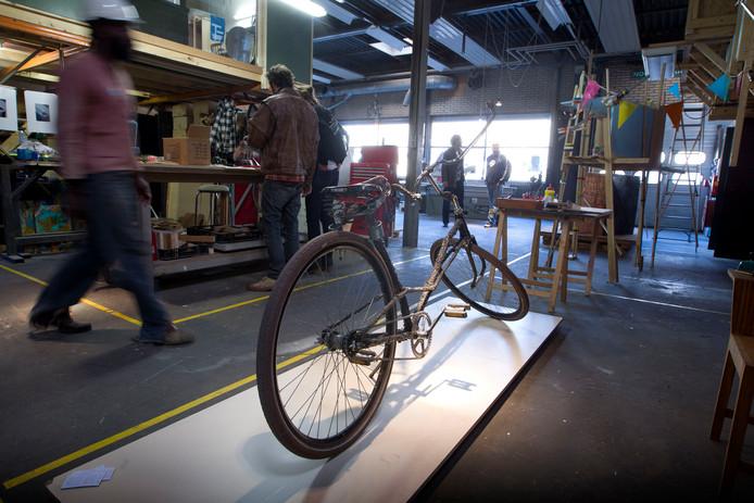 Een expositie bij Sectie C tijdens de Dutch Design Week in Eindhoven.