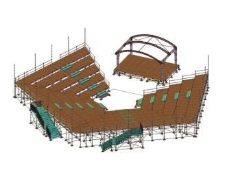 Geraardsbergen zet deze zomer amfitheater op aan Den Bleek